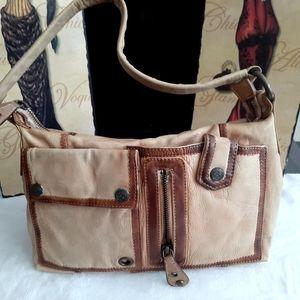 Vintage Latico 100%authentic leather shoulderbag.